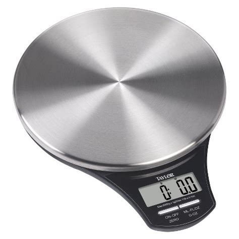 taylor 11lb stainless steel food scale target