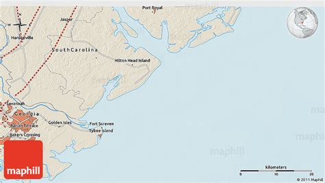map usa hton shaded relief 3d map of island