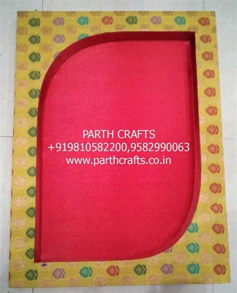 Handmade Saree Packing Trays - products saree packing tray manufacturer manufacturer