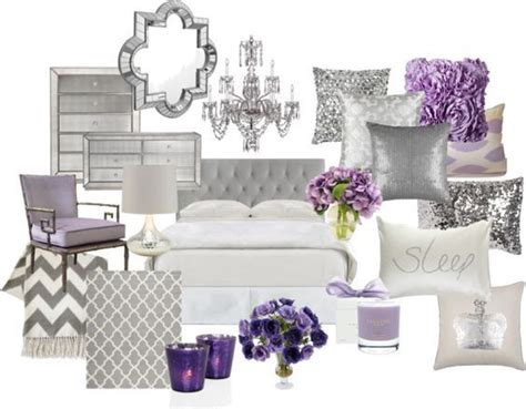lilac and silver bedroom quot lavender and grey bedroom quot by chloeg01 on polyvore