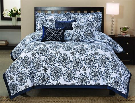 queen cotton comforter sets piece queen brookfield embroidered comforter set images