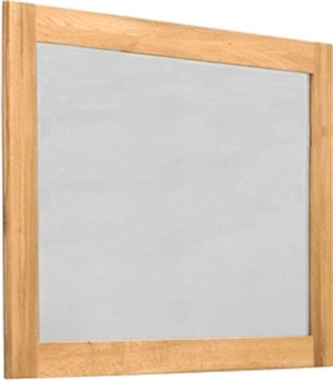 oak framed bathroom mirrors baumhaus mobel ba cor16b mirror oak frame size