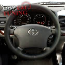 Land Cruiser Steering Wheel For Sale New Toyota Land Cruiser 80 1989 1997 Black Genuine Leather