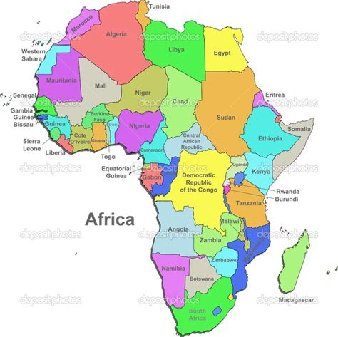 map of africa with country name africa algeria angola benin botswana burkina faso burundi