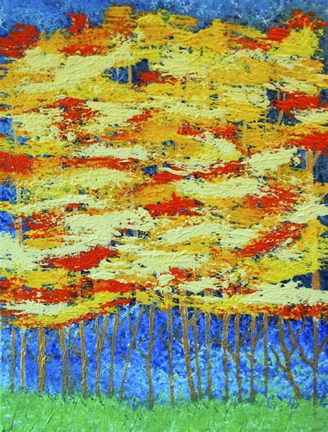 acrylic painting using palette knife why do some artists use paint for palette knife