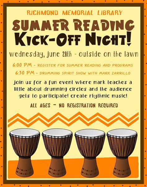 Kickoff Book Report by Summer Reading Kick Richmond Memorial Library