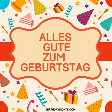 Wishing Happy Birthday In German German Happy Birthday Wishes Collection