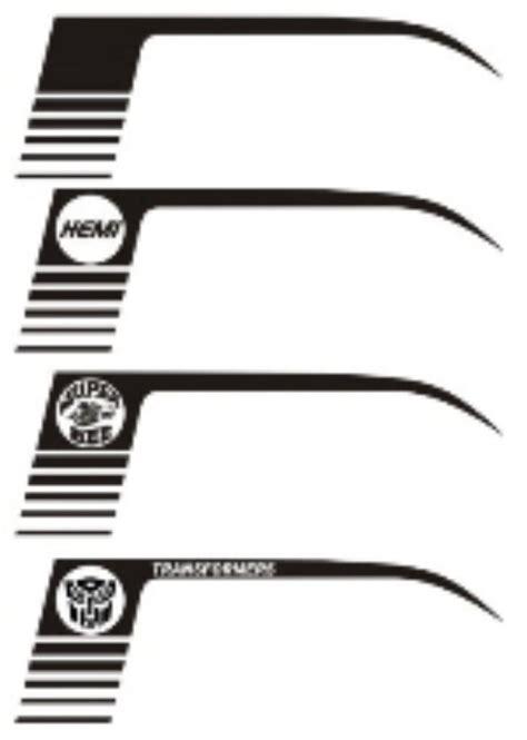 Sticker Mobil 5zigen Solid 60 Cm Racing Stiker the decal shoppe car stripes for chevy camaro dodge challengers dodge srt dodge srt8
