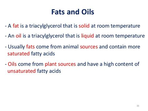 is saturated solid at room temperature simple lipids