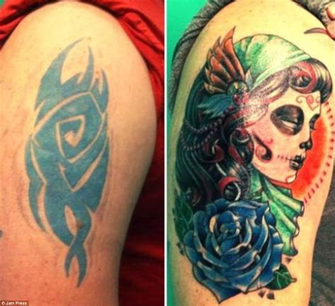 astonishing pictures of epic tattoo cover up fails daily