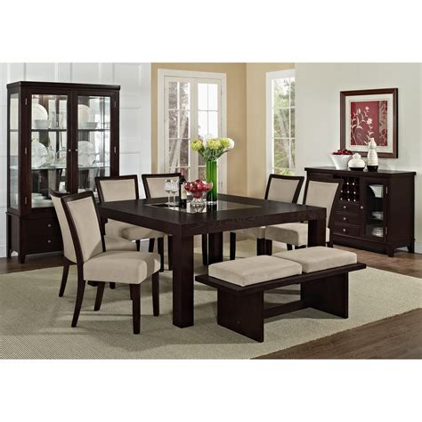 furniture make a statement in the dining room with three dining room all contemporary value city furniture dining