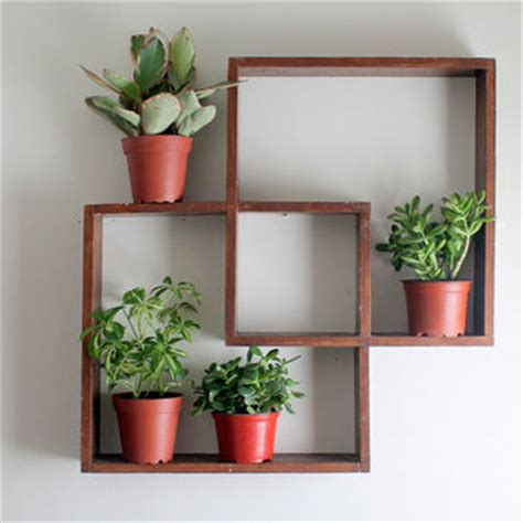 Wall Plant Shelf by Best Vintage Wall Shelf Products On Wanelo