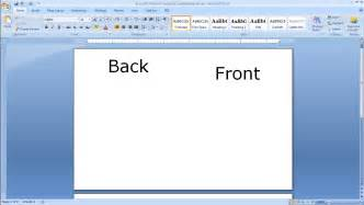 microsoft word card template blank blank greeting card template word 2007