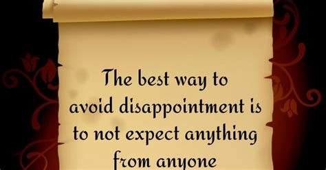 the best way to avoid disappointment love and sayings the best way to avoid disappointment welcome to nyaxee world