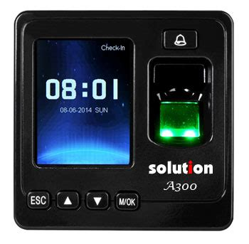 Solution L5000 Fingerprint Absensi Sidik Jari Access Door fingerprint accessdoor solution a300 pt bagus teknik