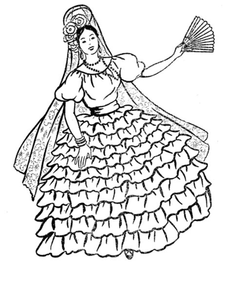 free spanish coloring pages az coloring pages
