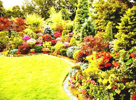 backyard flower gardens ideas green perennial flower garden ideas for spacious backyard