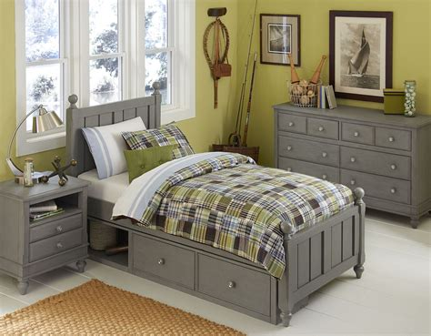 stone bedroom furniture lake house stone kennedy youth panel bedroom set with