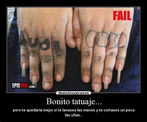 diy tattoo fail bonito tatuaje desmotivaciones