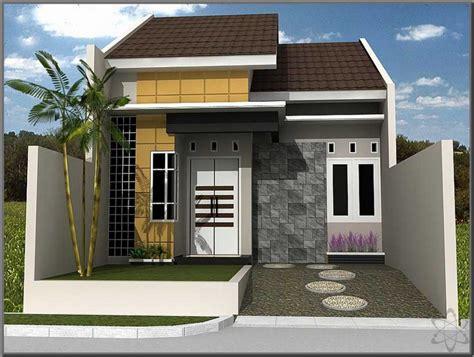 75 contoh gambar model rumah minimalis sederhana renovasi rumah net