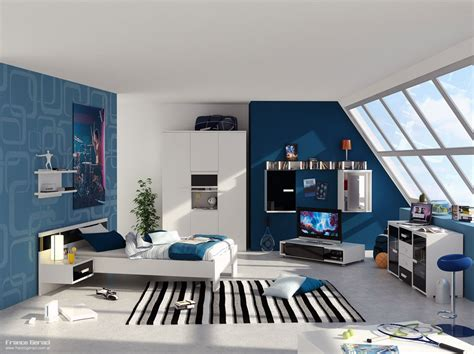 themes for rooms bedroom decor with stripes for pre teen boys cool boys