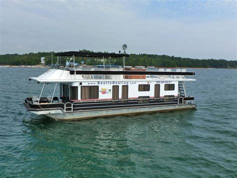 house boating 53 foot deluxe houseboat