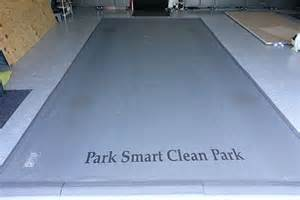 Garage Floor Mats Garage Floor Mat Park Smart Special Edition Clean Park