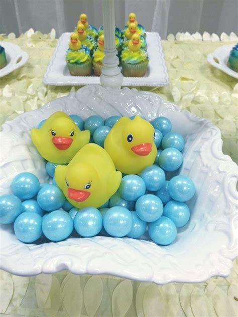 Rubber Duck Decorations by Rubber Duckies Baby Shower Ideas Baby Shower