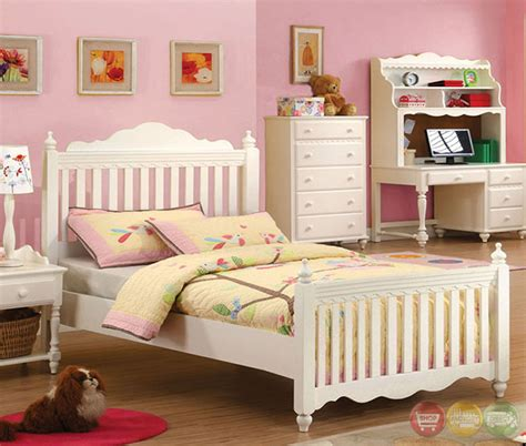 white princess bedroom set adriana princess white youth bedroom set cm7617y