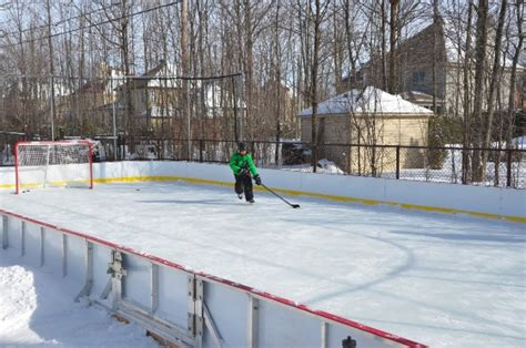 backyard hockey rink win a rink video contest 2013 14