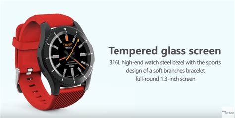 No.1 G8 smartwatch up for pre order on Banggood for $33.99