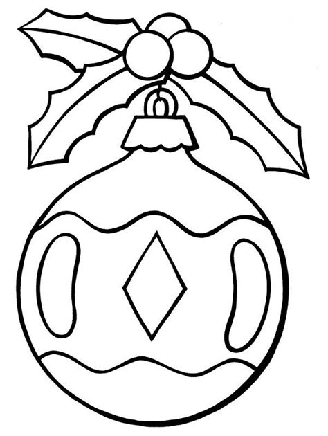 Coloring Pages For Ornaments by Ornament Coloring Page Images Search Chrstms