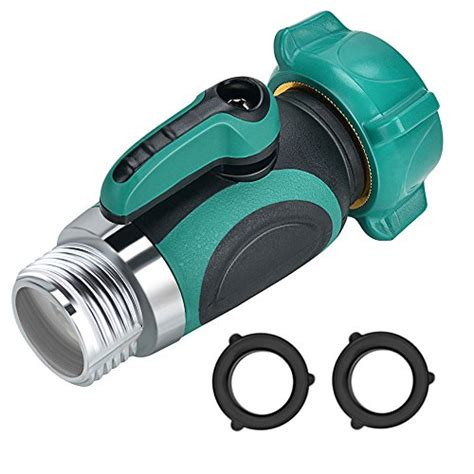 garden hose shut off valve yuelife connect outside spigot