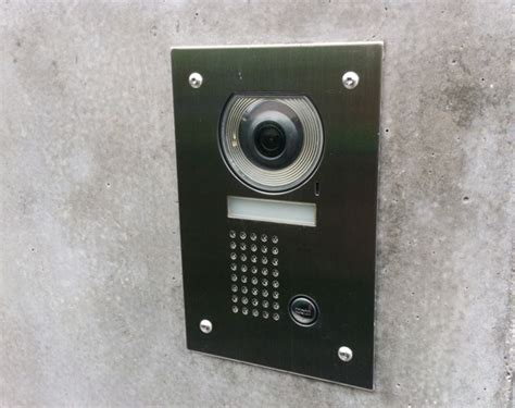front door intercom replacement tatami house