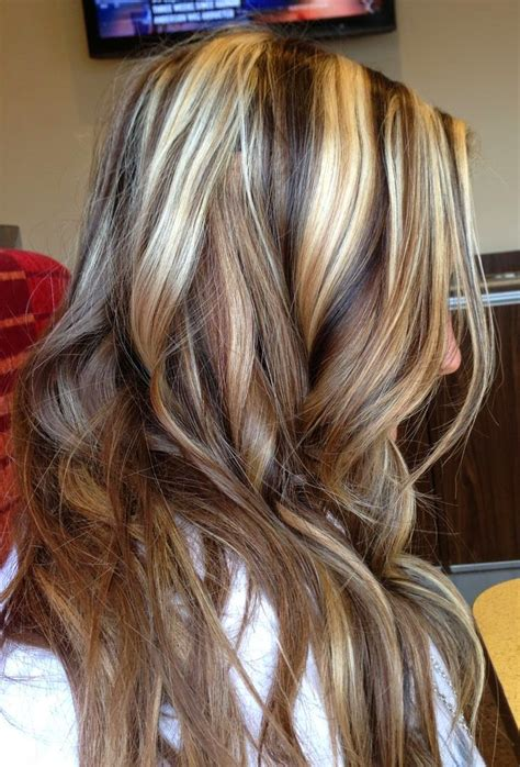 hair color ideas with highlights and lowlights google blonde highlights with black lowlights vqqlhw long