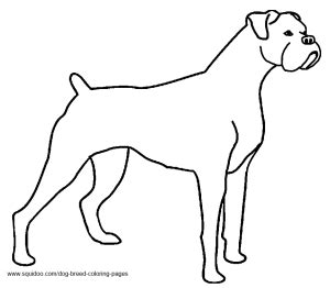 coloring pages of boxer puppies dog breed coloring pages hubpages