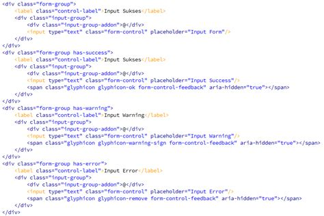 tutorial bootstrap tags input penggunaan class pada tag input bootstrap kursus web design