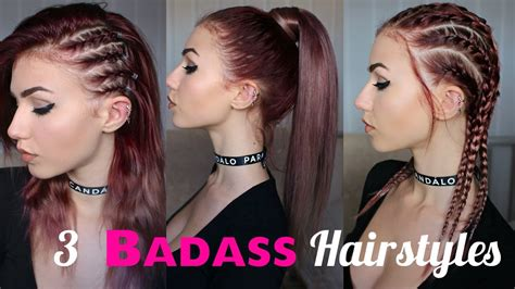 look bad with long hair how to look edgy 3 seriously badass hairstyles stella