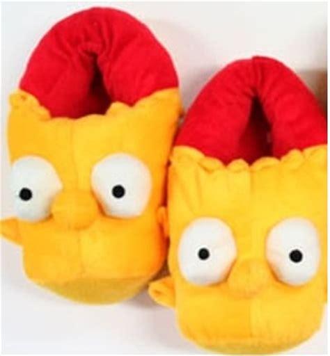 boys simpsons slippers bart slippers for findgift