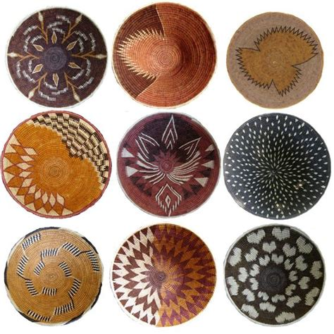 design magazine namibia africa collection of baskets from the kavango region of