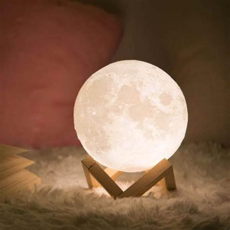enchanting  moon light set  wooden stand  deal