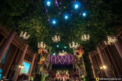 Excellent Wedding Organizer Jakarta by Adorable Wedding Reception Lightworks