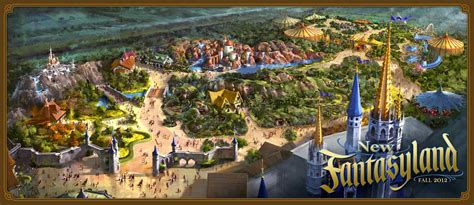 disney world reveals new name artwork models for new fantasyland grand opening set for december 6 at magic