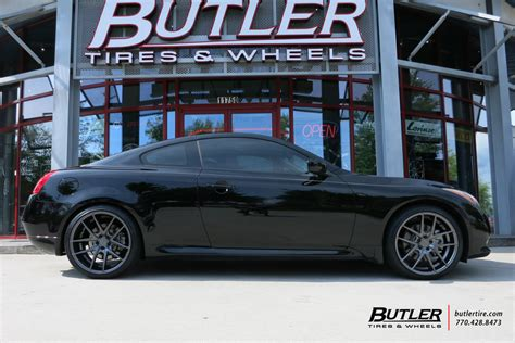 infiniti g37 coupe tire size infiniti g37 with 20in niche targa wheels exclusively from