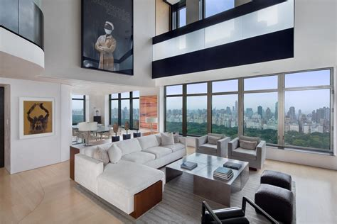 exclusive duplex penthouse  manhattan