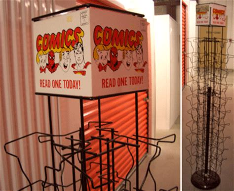 Comic Book Rack by Hey Comics Tales Of The Spinner Rack Part 3