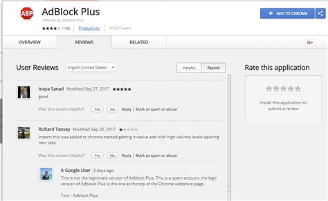 chrome extension adblock over 37 000 chrome users installed a fake adblock plus