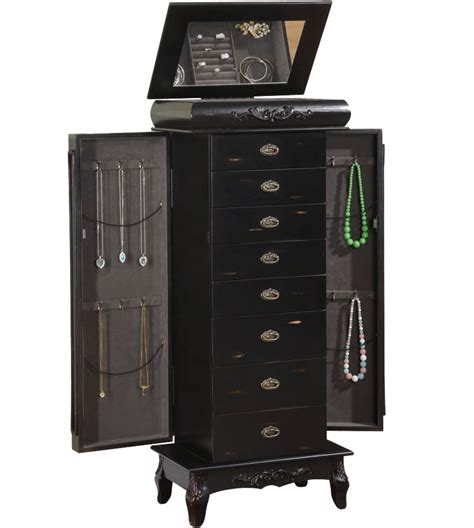 8 drawer jewelry armoire 8 drawer jewelry armoire morris in jewelry armoires