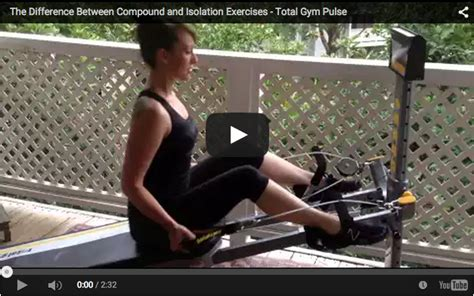 the difference between compound and isolation exercises total pulse