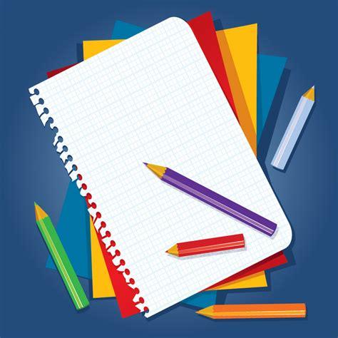 Pensil Susun Stationery Alat Tulis Pencil Hadiah book and color pencil vector free vector 4vector